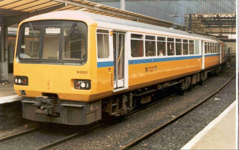 Tyne And Wear Metro. in the Tyne and Wear PTE