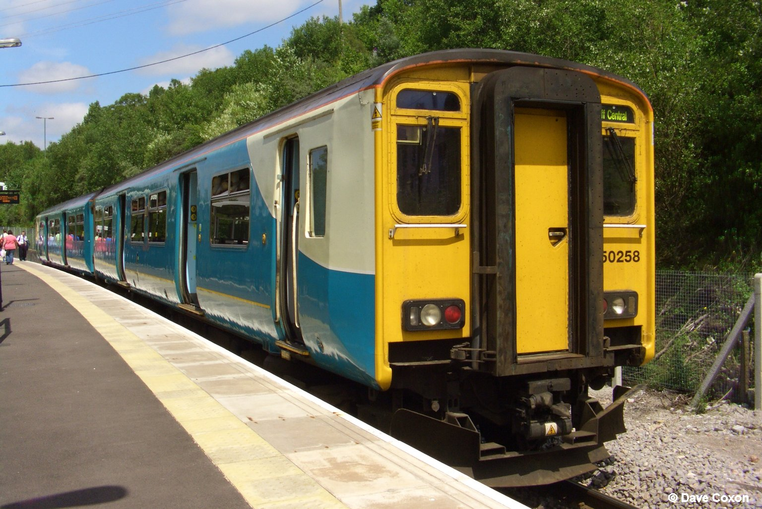 150258 in Arriva Trains Wales
