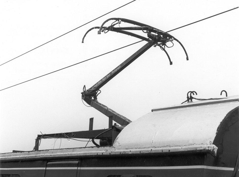 Highspeed pantograph