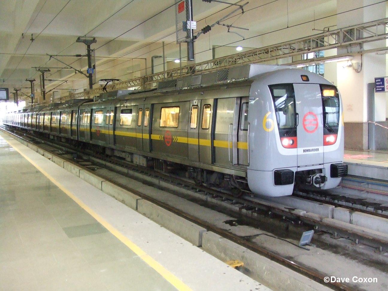 violet line metro